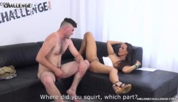 Sexy students fuck in a country cottage